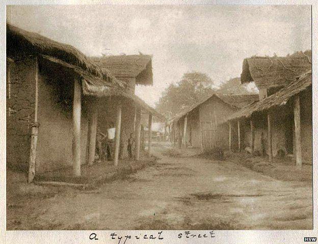 A street in Benin / now Nigeria