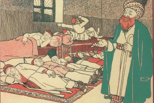 First issue of Molla Nasreddin magazine. 1906