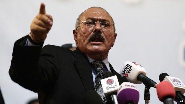 Ali Abdullah Saleh (2012)