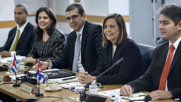 Cuban delegation