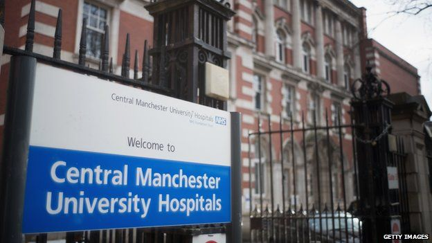 Central Manchester University Hospitals NHS Trust in Manchester