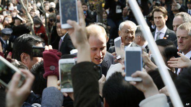 Crowds photograph William