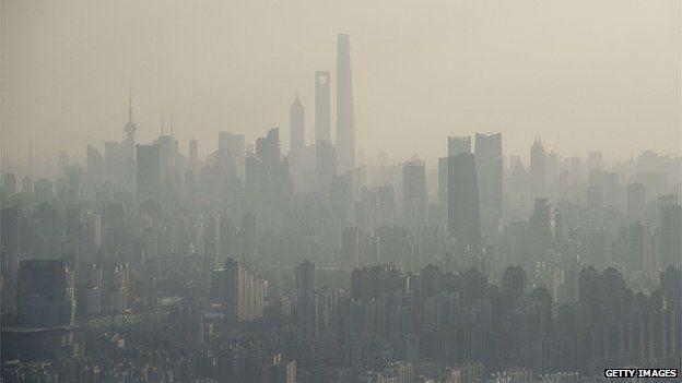 Pollution in Shanghai