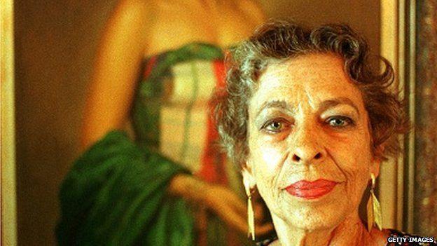 Natalia Revuelta in 1998, at age 73