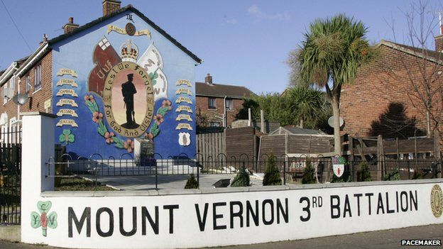 UVF mural in north Belfast