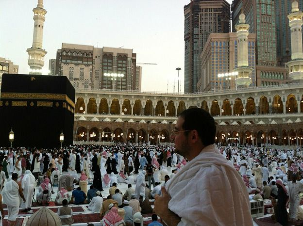 Aimen Dean in Mecca