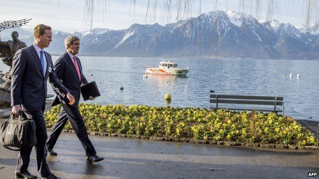 John Kerry in Switzerland
