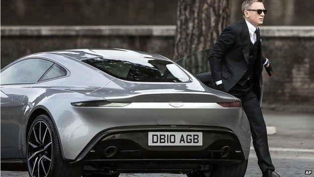 Daniel Craig and Aston Martin