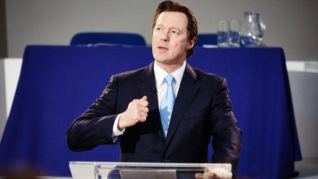 Rory Bremner as David Cameron