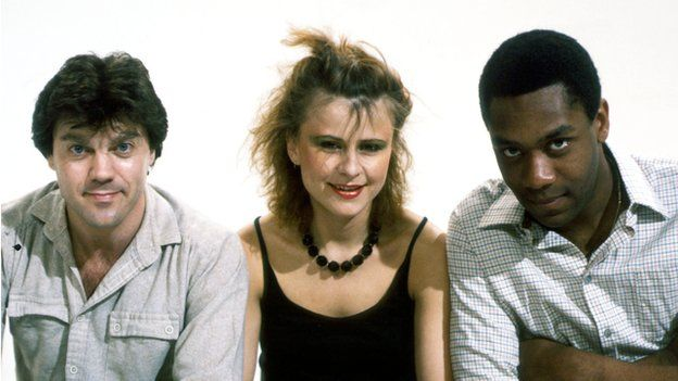 David Copperfield, Tracey Ullman and Lenny Henry in Three of a Kind