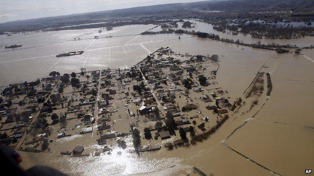 Flood in Ebro