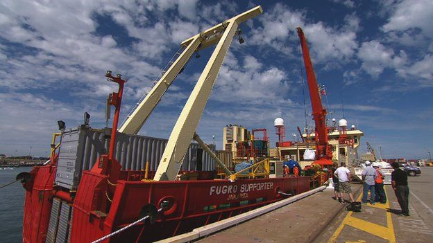 Picture of Fugro Supporter ship
