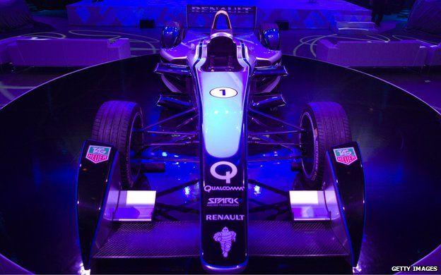 Formula-E racing car