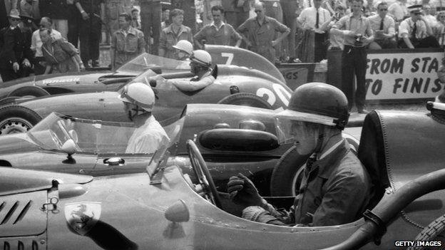 Mike Hawthorn, 1958 Grand Prix
