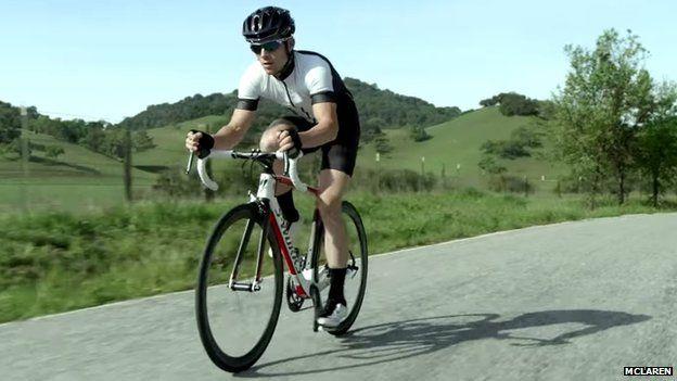 S-Works McLaren Tarmac road bike