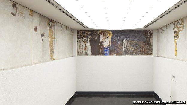 The Beethoven Frieze by Klimt