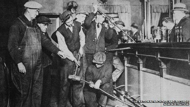 Prohibitioners take down a bar