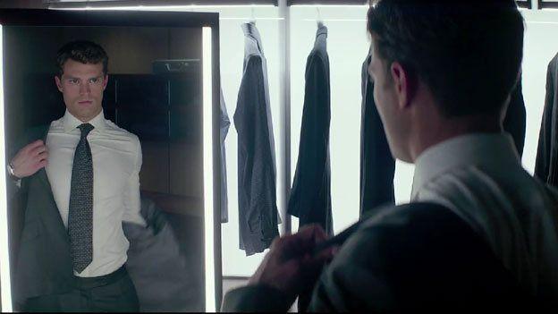 Jamie Dornan who plays Christian Grey in the film