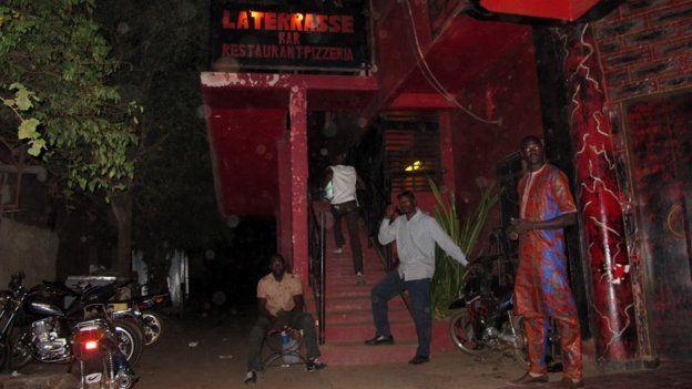 La Terrasse nightclub in Bamako, Mali