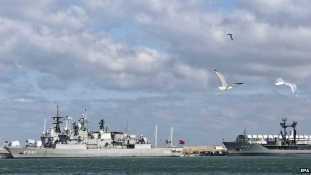 Ships assigned to Standing NATO Maritime Group Two arrived in Varna for a scheduled port visit during the Group's deployment to the Black Sea.