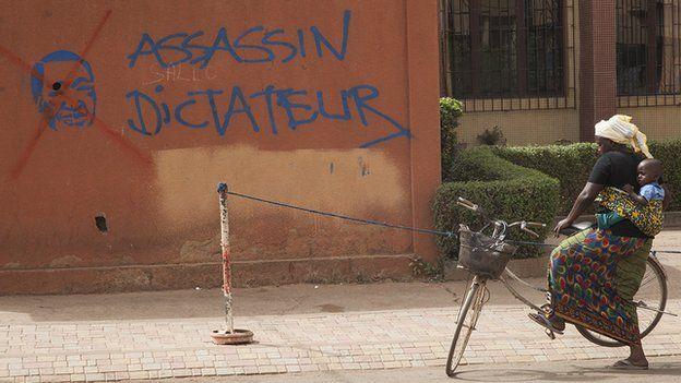 Graffiti art, Burkina Faso