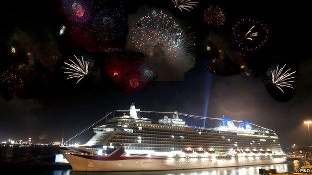 Britannia fireworks