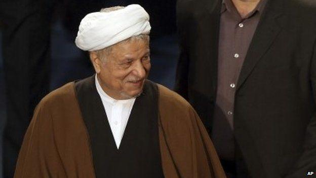 Akbar Hashemi Rafsanjani (file)