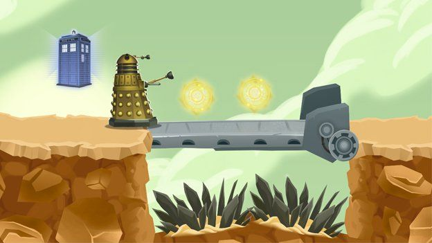 Doctor Who game action