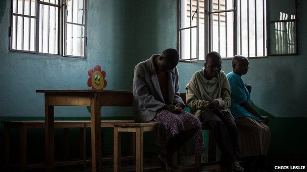 Children at Noel's Orphanage in Rwanda