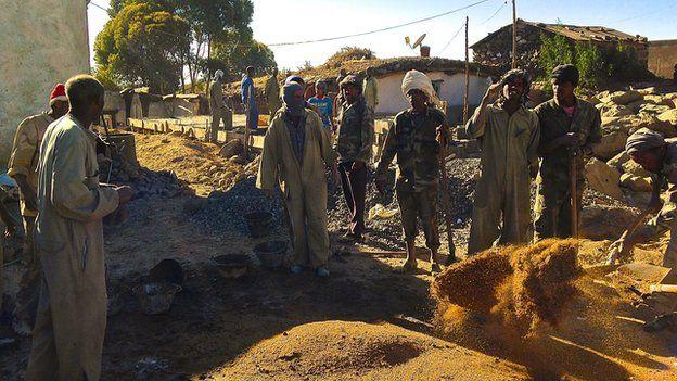 Eritrean conscripts