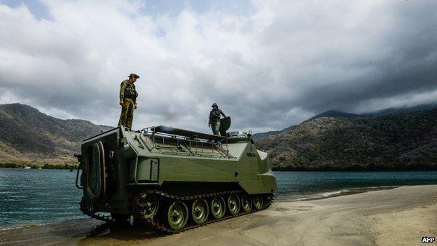 Military exercises in Venezuela