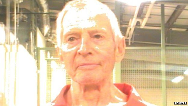 Orleans Parish Sheriff's Office booking photo of Robert Durst (15 March 2015)
