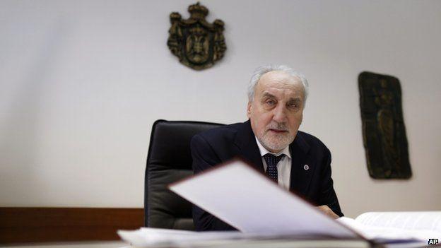 Serbia's war crimes prosecutor Vladimir Vukcevic (18 March 2015)