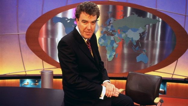Clarkson in 1998 chat show