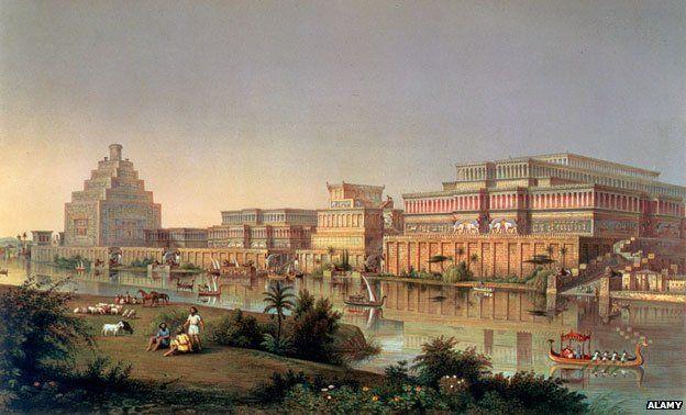 Layard's vision of restored palaces