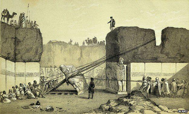 Layard excavation