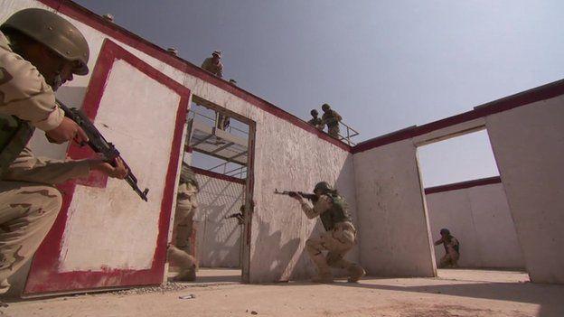 Iraqi army training