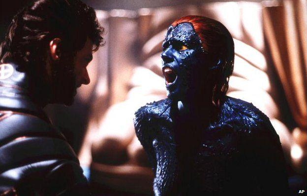 Hugh Jackman and Rebecca Romijn-Stamos