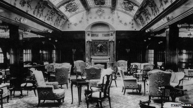 Lusitania lounge