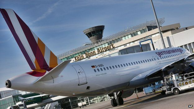 Airbus A320 of the airline Germanwings