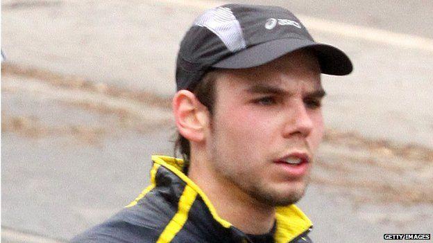 Andreas Lubitz participates in the Frankfurt City Half-Marathon on March 14, 2010 in Frankfurt, Germany