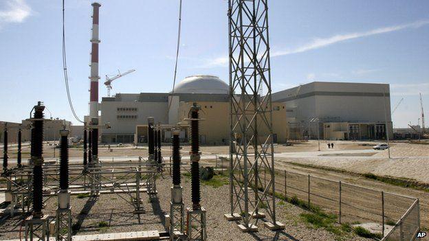 Bushehr power station