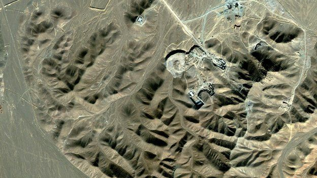 Fordo enrichment facility near Qom (2009)