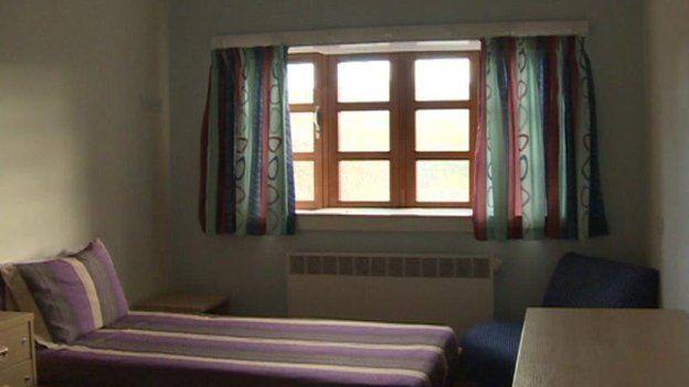 Each patient has an en-suite room