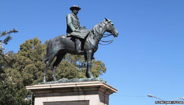 Statue of Rhodes, Kimberley
