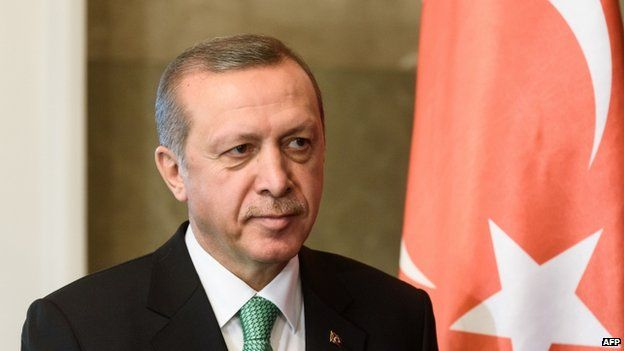 President Recep Tayyip Erdogan (30 March)