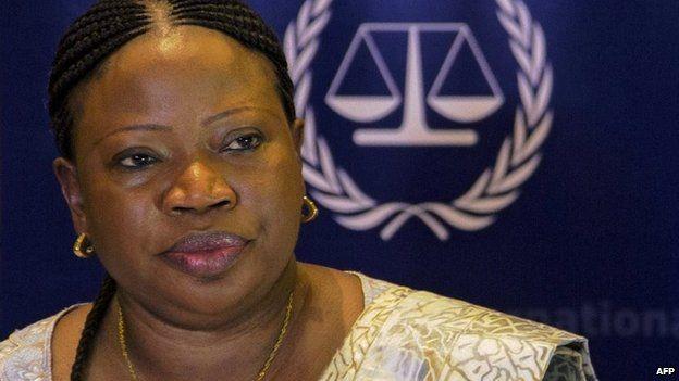 International Criminal Court prosecutor Fatou Bensouda (27 February 2015)