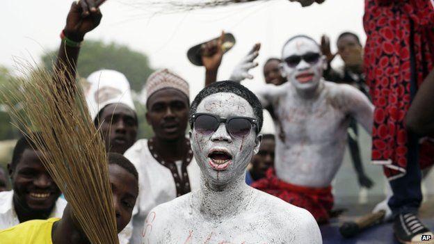 Celebrations in Kaduna, Nigeria