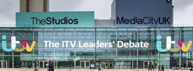 ITV election debate advert