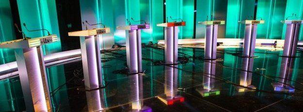 ITV Leaders Debate Studio Preview